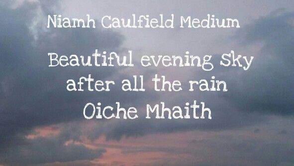 #oichemhaith #niamhcaulfieldmedium