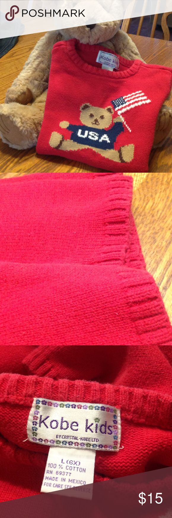 KOBE KIDS Good used condition slight pilling from washing kobe kids Shirts & Tops Sweaters