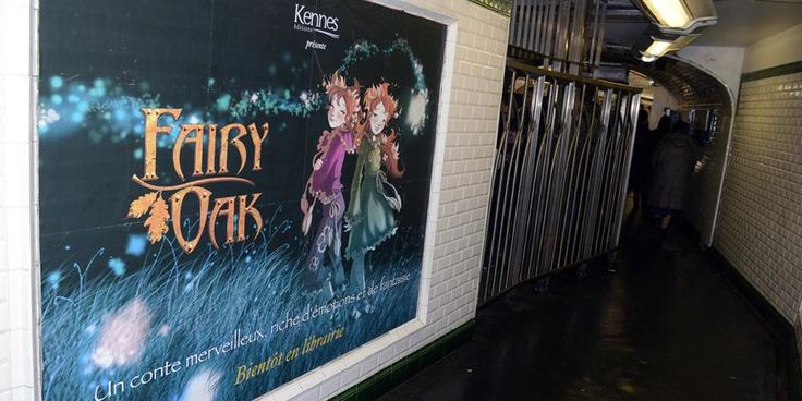 """Bombus on Twitter: """"#FairyOak Billboard campaign in French tube    by…"""