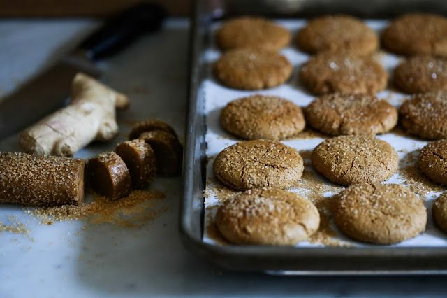 Chewy Triple Ginger Cookies | Recipe | Ginger Cookies, Cookies and At ...