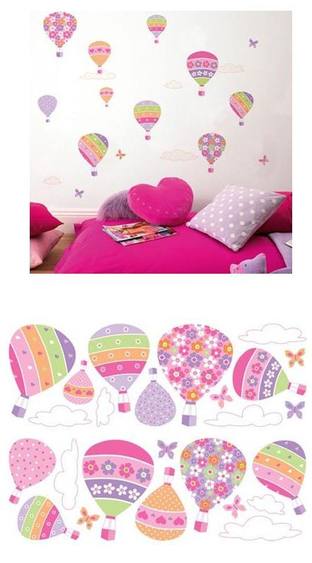 Air Baloons Wall Stickers - Wall Sticker Outlet