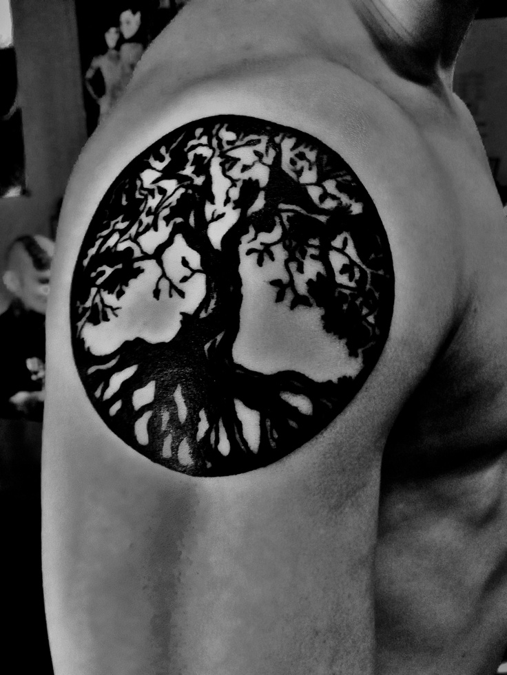 Tree Of Life Tattoo With Heart Roots: 26 Best Yggdrasil Tattoo Images On Pinterest