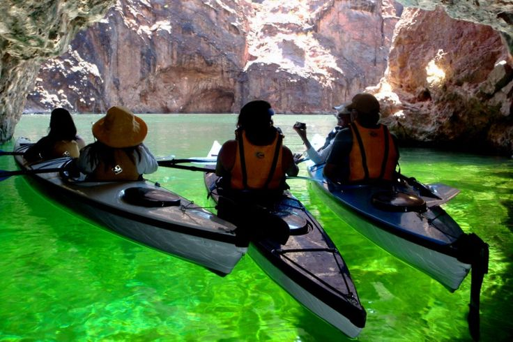 Emerald Cave - a Kayak Lake Mead Trip (Black Canyon AZ)