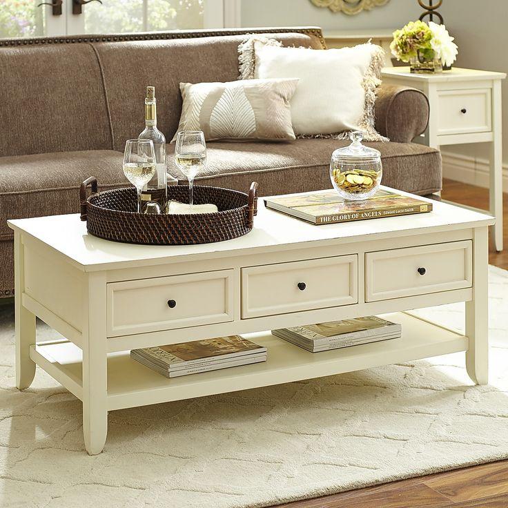 Ashington Antique White Coffee Table