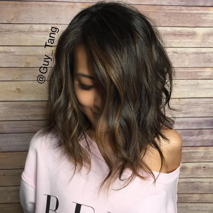 Considering this new look for my transition into fall. Shorter haircut lob style according to hair guru @guy_tang