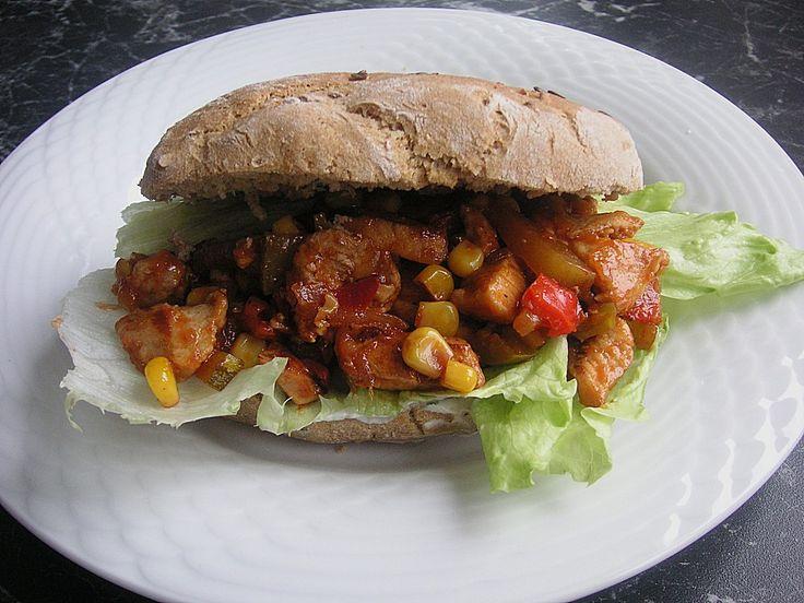 Western-Burger, ein sehr leckeres Rezept aus der Kategorie Geflügel. Bewertungen: 59. Durchschnitt: Ø 4,2.