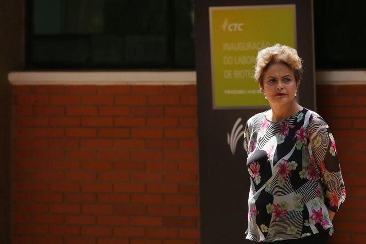 'Não cometi nenhum desvio de conduta', diz Dilma. http://glo.bo/1MBLY1d