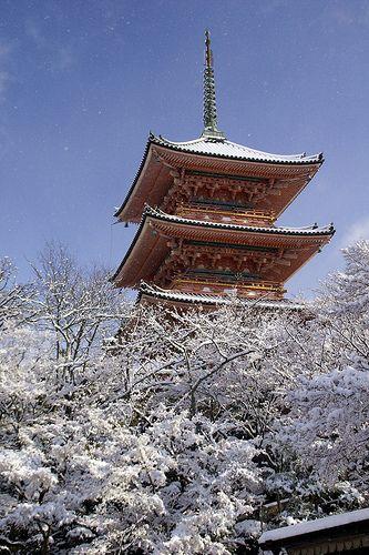 Kiyomizu-dera teple #japan #kyoto