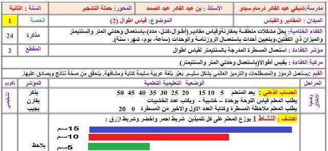 مذكرة قياس الاطوال 2 السنة الثانية ابتدائي Http Www Seyf Educ Com 2020 01 Modakirate Kiyasse Atwale 2ap Html Periodic Table