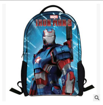 Super Hero Good Quality Large-Capacity Durable Boy's Backpack