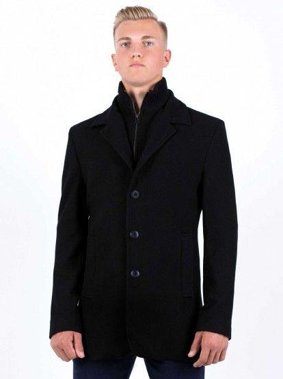 Мъжко късо палто STYLER - черен