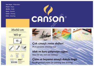 Canson Resim Defteri 165gr 15 Yaprak 35x50 Can-165-3550