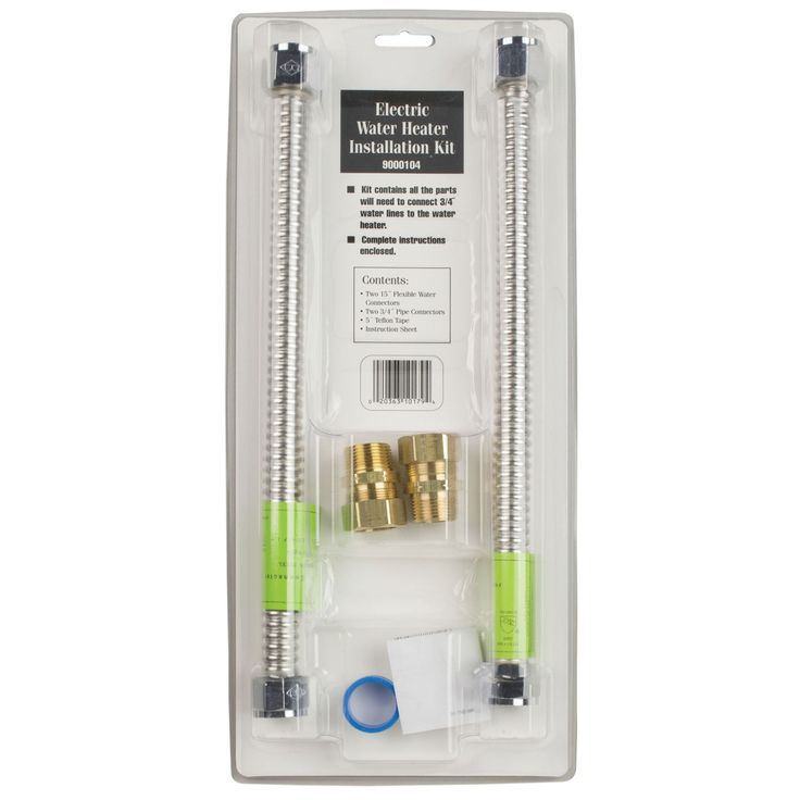 jensen reliance electric water heater kit elect install kit