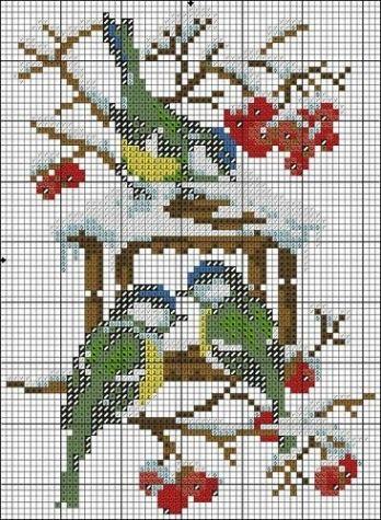 Схемы вышивок крестом от Юлии_Ж / Вышивка / Схемы вышивки крестом