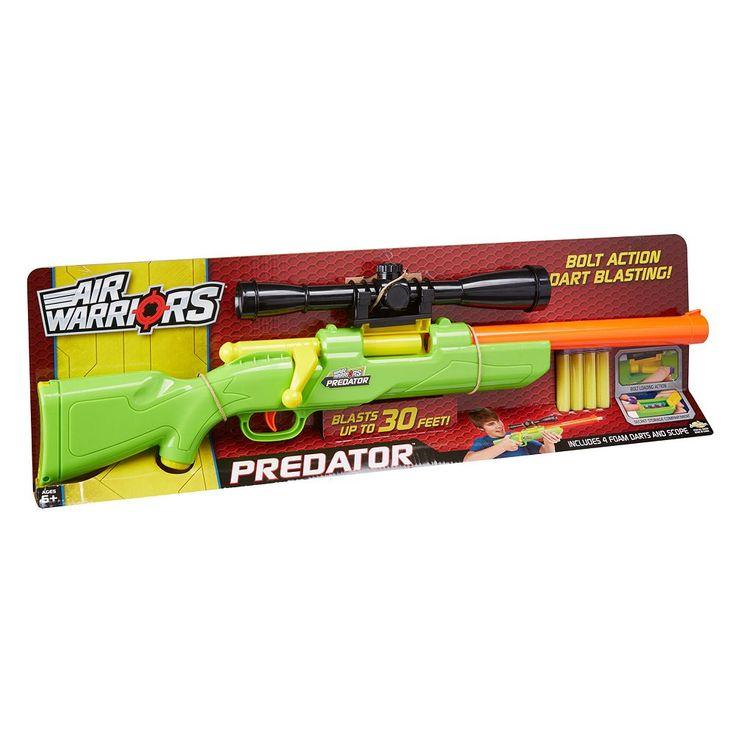 Buzz Bee Toys Air Warriors Predator Blaster, Multicolor