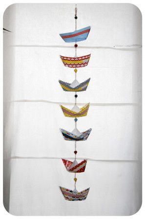 pliage-bateau-en-papier-paper-boat free printable