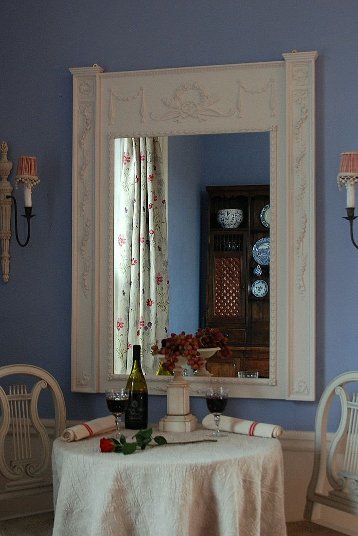 """""""Cupid"""" trumeau style mirror classicandchic.co.uk"""
