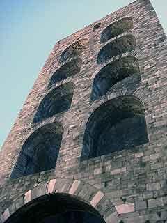 Como. Porta Torre, il lato interno. #como