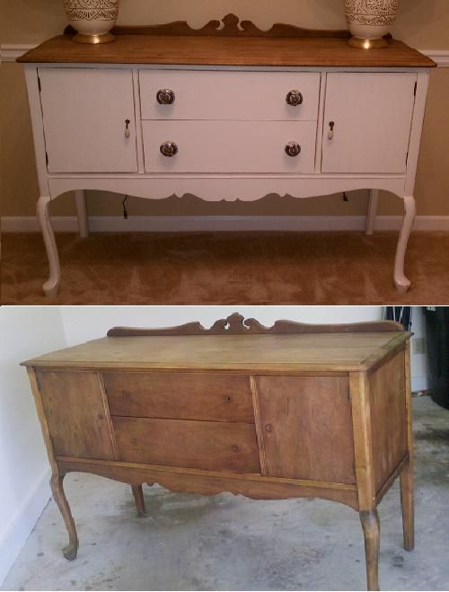 Dining Room Buffet Before&After