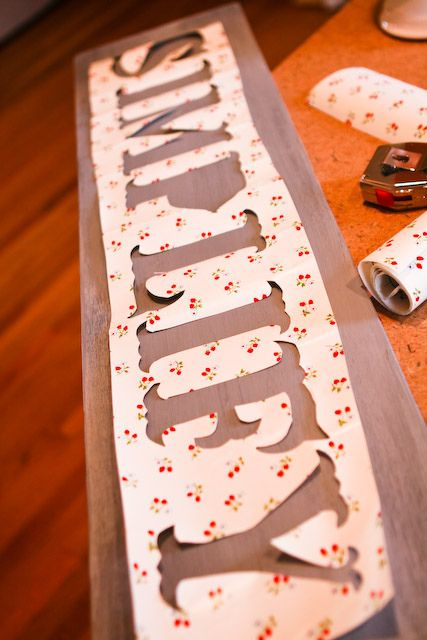 great homemade stencil tip good idea for diy home of the free sign