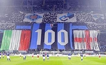100 Year Anniversary Inter Milan.  March 2008 Inter vs Reggina 1-0 (Ibrahimović)