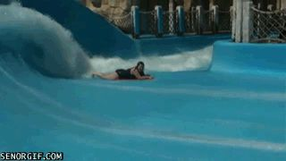 16 Amusing Water Slide GIFs Aimed to Help Get You Through Another Long Winter from GifGuide