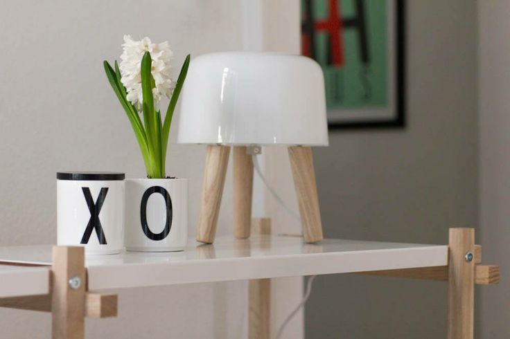 Hay Woody, &Tradition Milk Lamp, KLAM poster and Design Letters cups