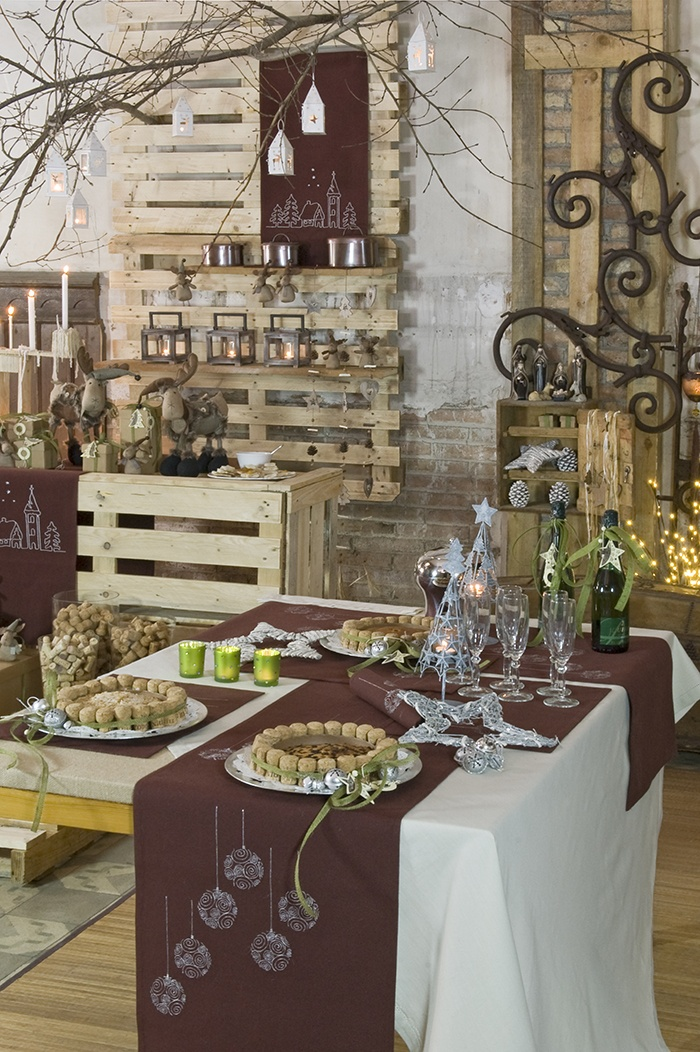 Decoraci n navide a mesa de navidad christmas http www - Mesa navidena ...