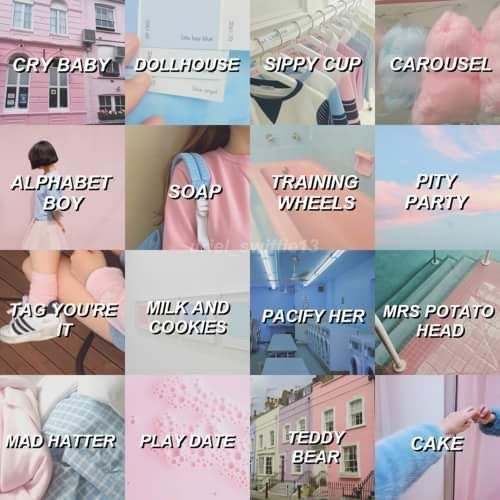 Comment your favorite song! Mine is Mrs. Potato Head,soap and tag, your it :)