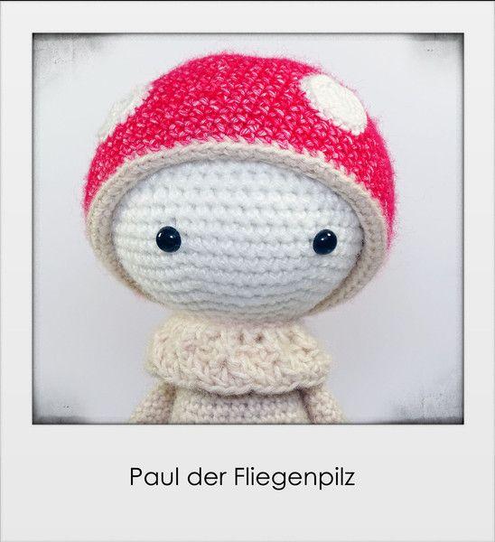 Paul+der+Fliegenpilz+von+Gebastelt+auf+DaWanda.com