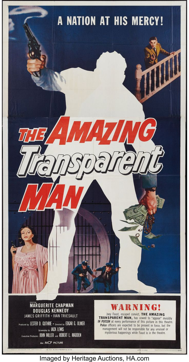 Film Excess: The Amazing Transparent Man (1960) - Ulmers
