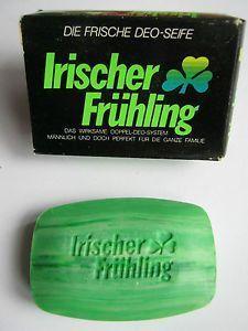 IRISCHER-FRUHLING-Seifen-Probe-70er-Jahre – #alte …