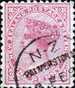New Zealand 1882 Queen Victoria SG 227 Fine Used Scott 67a Other New Zealand Stamps HERE