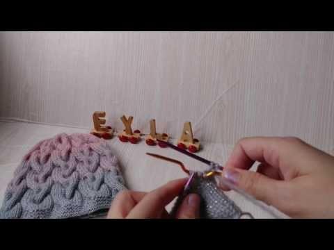 Sac örgülü batik desenli bere videomuz - YouTube