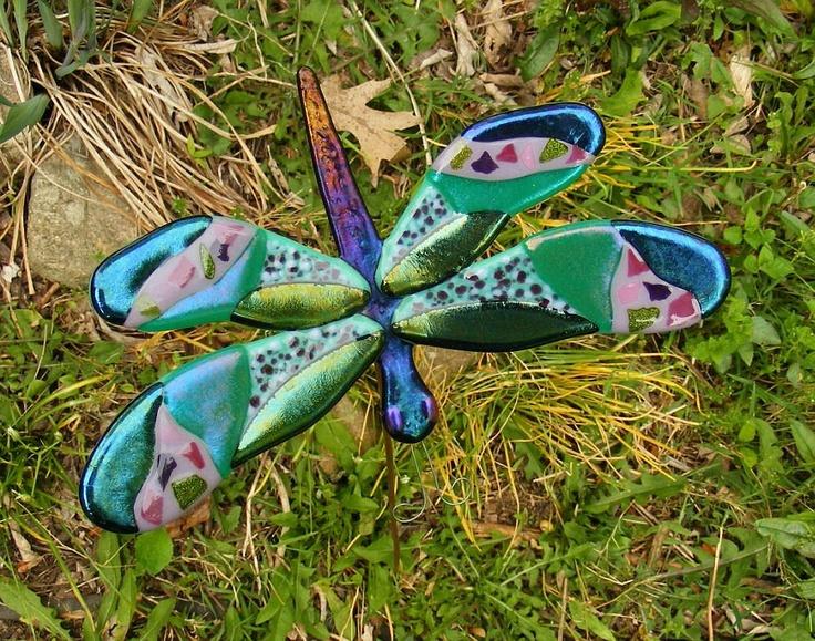 17 Best 1000 images about Dragonflies on Pinterest Gardens Glass art