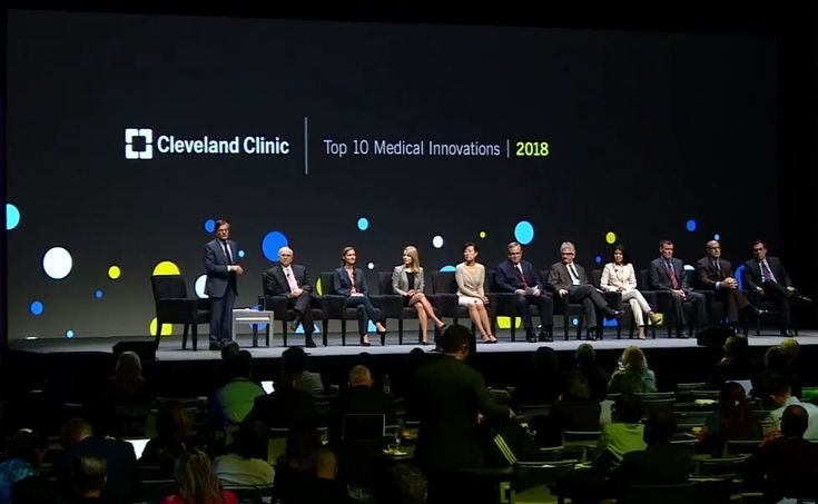 The Top 10 Medical Innovations for 2018 were unveiled at Cleveland Clinic's 15th annual Medical Innovation Summit, held in Cleveland, October 23-25, 2017.