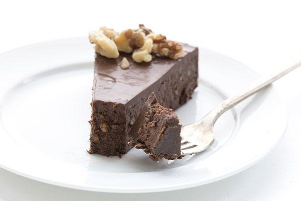 Chocolate Walnut Torte (All on-hand, including 7oz chocolate, walnuts ...