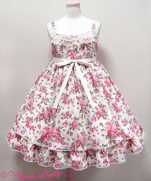 Lolibrary | Angelic Pretty - Sets - Dramatic Rose Special JSK Set