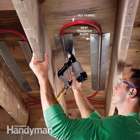 25 best ideas about radiant heating system on pinterest for Pex pros and cons