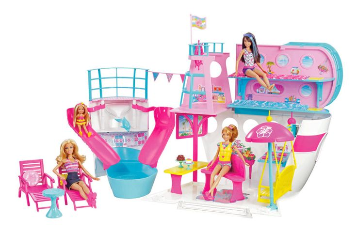 Barbie y su supercrucero