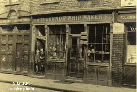 North King Street, Dublin, Ireland - H. Connor, Whip Makers.