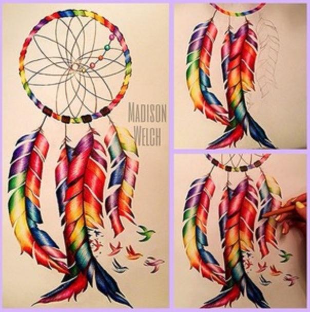 Madison Welch dreamcatcher tattoo design idea