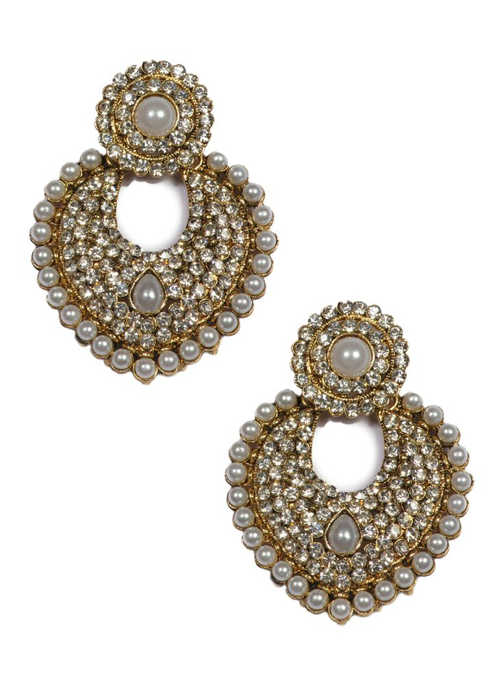 Exclusive Ivory Stone Earrings