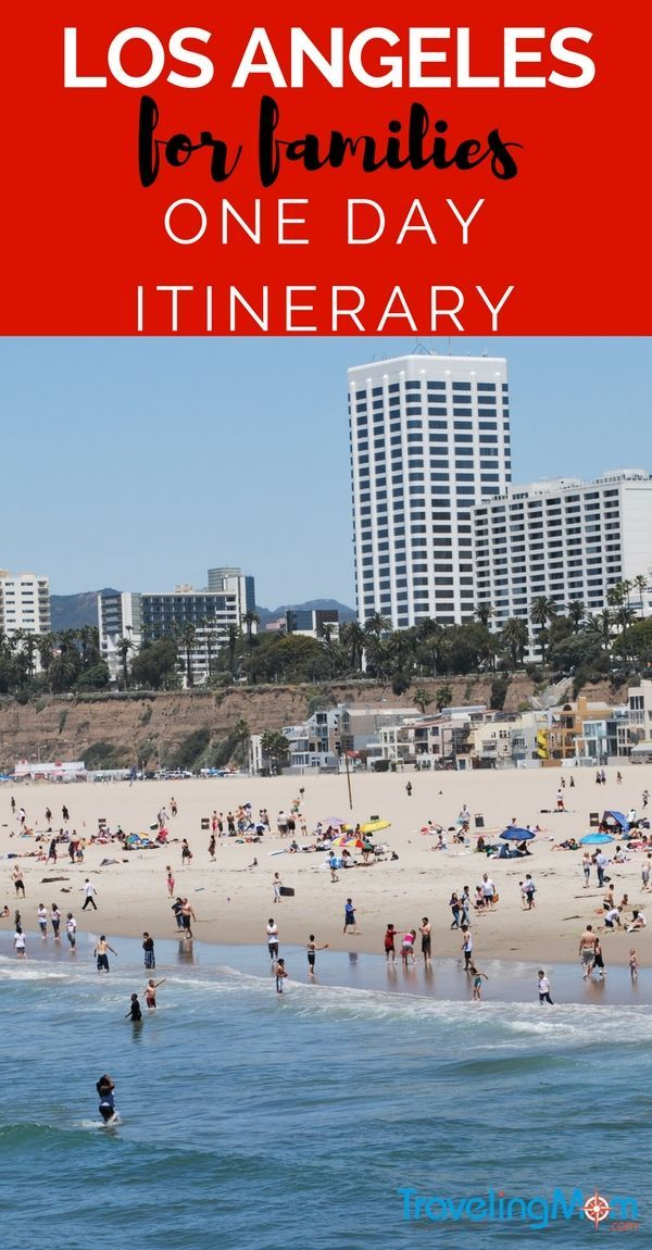 La In 1 Day With Kids Hollywood Santa Monica Beach Travelingmom Los Angeles Day Trips Los Angeles Vacation Los Angeles With Kids