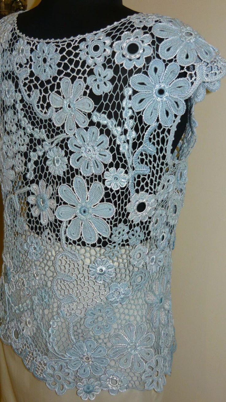 1729 besten Irish crochet Bilder auf Pinterest | Häkelmaschen ...
