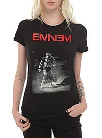 HOTTOPIC.COM - Eminem Live On Stage Girls T-Shirt