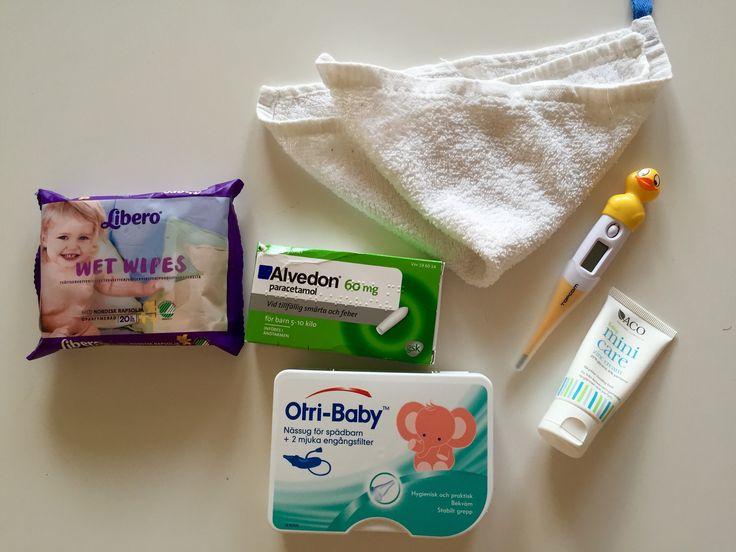 Att resa med en 3-månaders bebis på solsemester känns faktiskt väldigt enkelt…