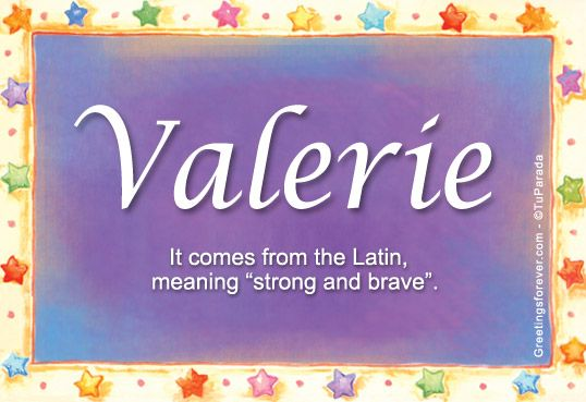 1000 images about valerie on pinterest for Domon name meaning