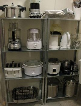 Super Kitchen Organization Ideas Cupboards Appliance Garage Ideas