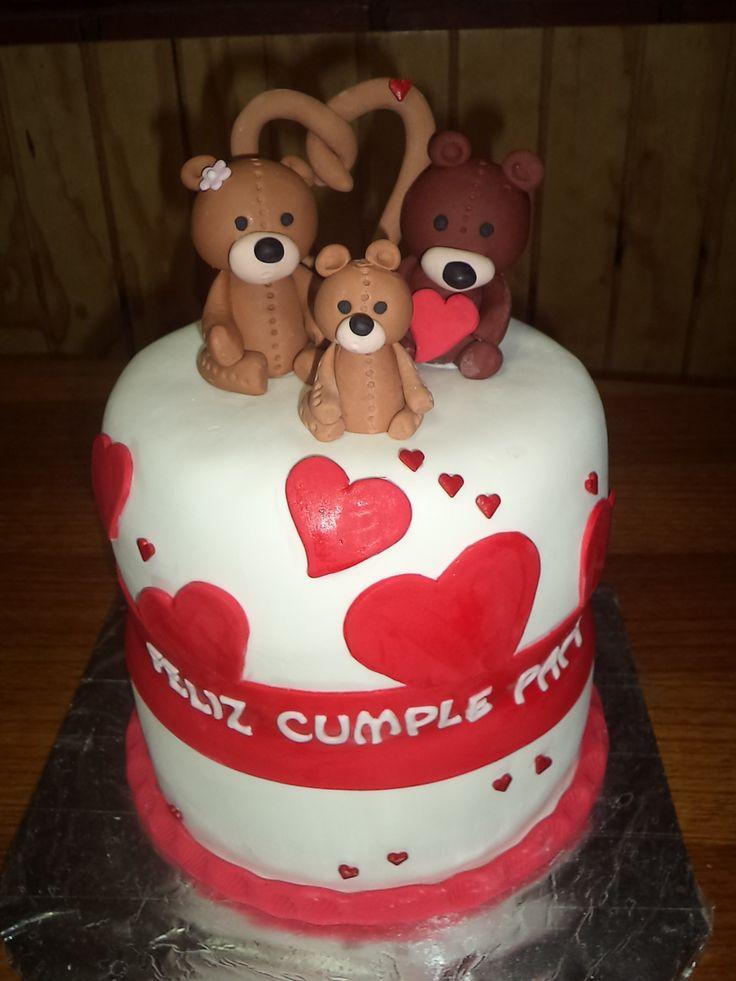 #aniversario #cake #love creada por Volovan Productos